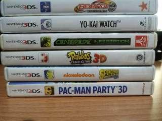 3DS Games Bundle (Also sold separately)