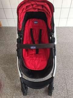 Chicco Urban plus個性化雙向手推車+汽車安全座椅