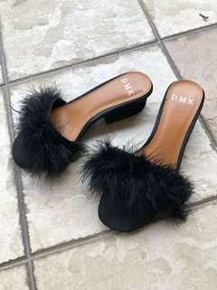 Furry Sandals