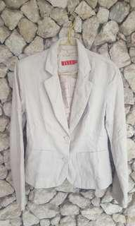 Blazer broken white cewe by elle