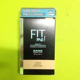 FREE Shipping Maybelline Fit Me Powder Foundation