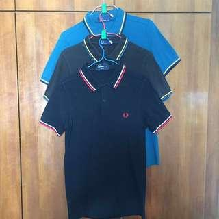 🚚 Authethic Fred Perry Slim Fit Polo Tee