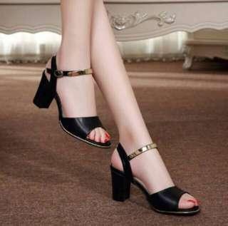 Sepatu Hak Ankle High Heels #002