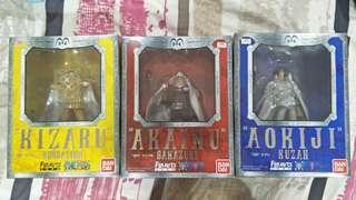 Akainu/Kizaru/Aokiji One Piece