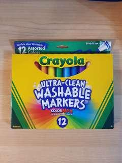 Crayola- Ultra Clean Washable Markers