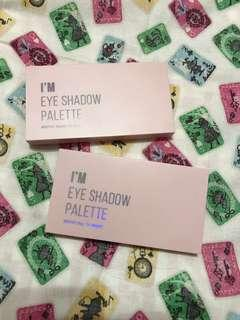 I'M MEME 10色眼影盤 #SP01 #SP02