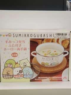 (日本直送現貨) 角落生物搪瓷鍋連蓋 (1-3人份量)