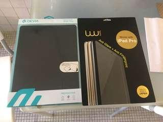 Ipad Pro 12.9 Flip Case and Screen Protector
