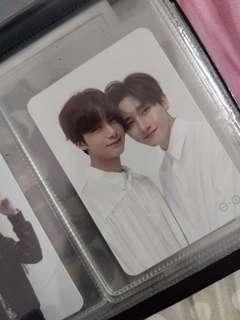 Monsta X Deja Vu Unit Photocard (Hyungwon × I.M)