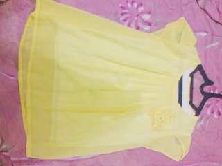 Baju kerja kuning