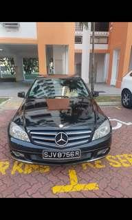 Mercedes C180 for rent