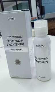 FacialWash Brightening Erto's