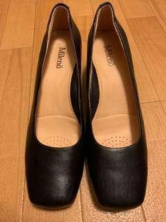 Mileno 黑色高跟鞋