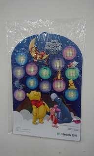 Winnie The Pooh 宏利2019年立體掛牆年曆