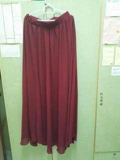 Long Skirt Chiffon