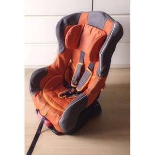 Orange Baby Carseat
