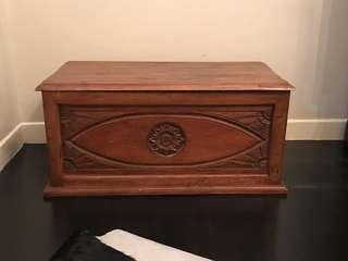 Antique Teak wood chest