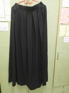 Long Skirt Black