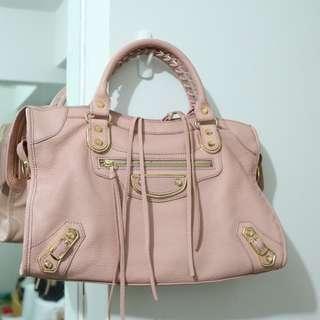 Balenciaga City Bag Mirror 1:1 Powder Pink