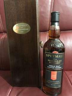 Macallan 1950 Vintage Speymalt, Gordon & MacPhail 2006 Bottling