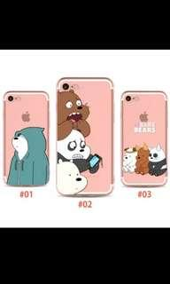 We Bare Bears SoftCase for iPhone