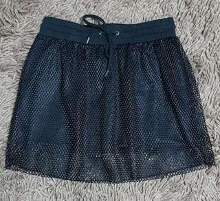 Stussy net skirt