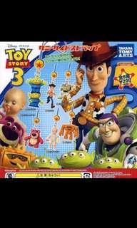 Tomy Disney toystory 反斗奇兵 石頭人 toy story 扭蛋 匙扣