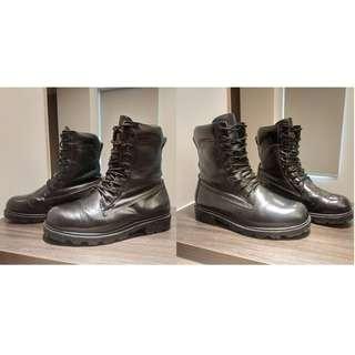 Chris's『 型男生活』~ARMY FORCE 軍威 傘兵靴 8111 全真皮高筒軍靴 防水 防風 保暖 車靴 黑靴
