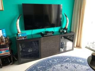 TV Console and Drinks Cabinet