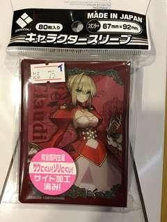 Fate Grand Order FGO  Nero 暴君 尼祿 ネロ Saber セーバー  - 日本 Broccoli 卡套 咭套