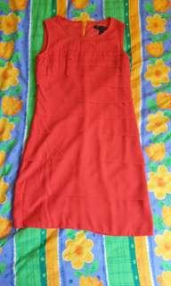 🚚 Red Dress (Size S)