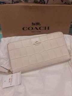 Coach Wallet (White)