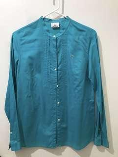 Lacoste Long sleeves Polo (Teal)