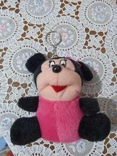 Gantungan kunci boneka mickey