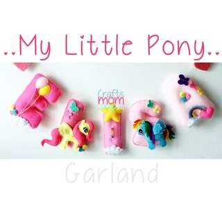 My Little Pony Name Garland