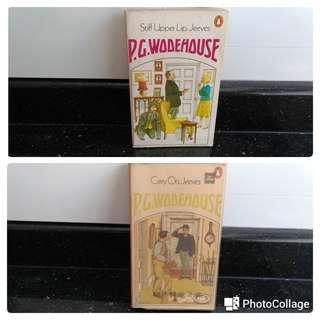 English books...P G Wodehouse...Jeeves Wooster