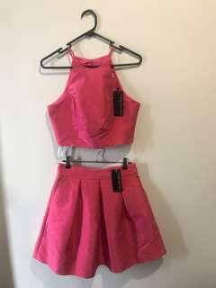 BNWT Forever New Skirt and Crop set