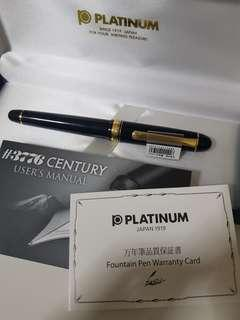 🚚 Platinum 3776 Fountain Pen medium nib