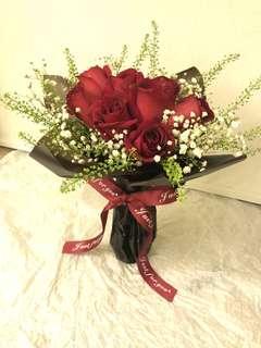 ❤️情人節 玫瑰 花束❤️ 鮮花 花束 禮物
