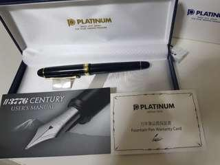 🚚 Platinum 3776 fountain pen fine nib