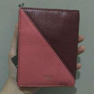 Fossil passport wallet