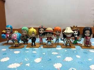 7-11 One Piece 海賊王公仔
