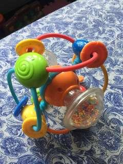 Toy and tether