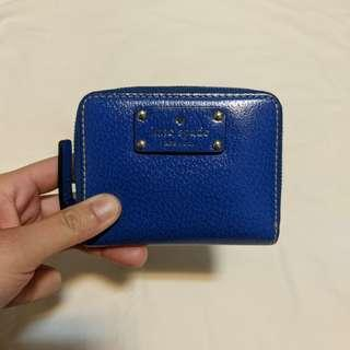 🚚 Kate Spade Cara Wellesley Mini Wallet (Navy)