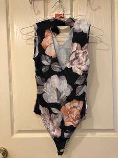 Pretty Little Thing Floral Bodysuit