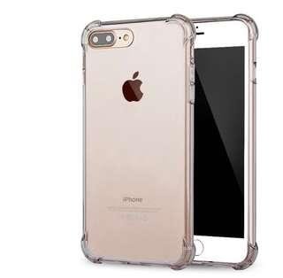 Iphone 7+ clear casing