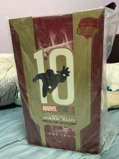 放售 全新 Hot Toys Ironman Mark 46 concept Art 10週年版
