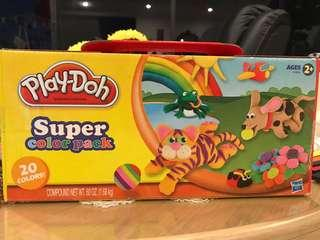 "Play Doh ""super colour pack"""