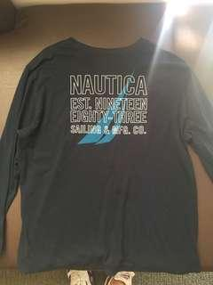 Vintage nautica long sleeve t shirt