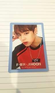 Jihoon Wanna One Photocard